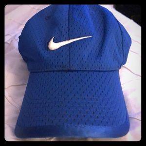 Blue Nike Adjustable Hat